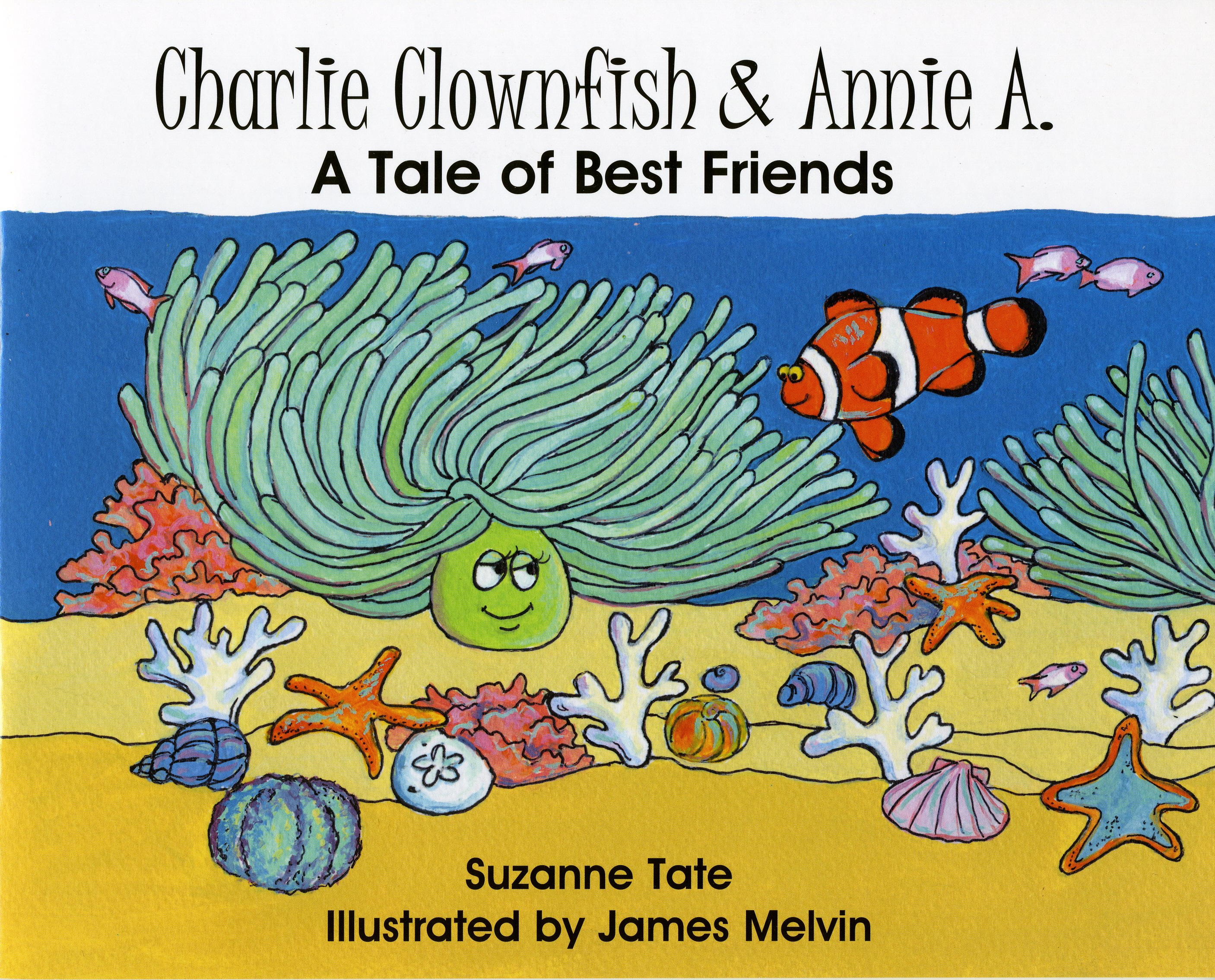 Suzanne tate 39 s nature series for Clown fish life cycle